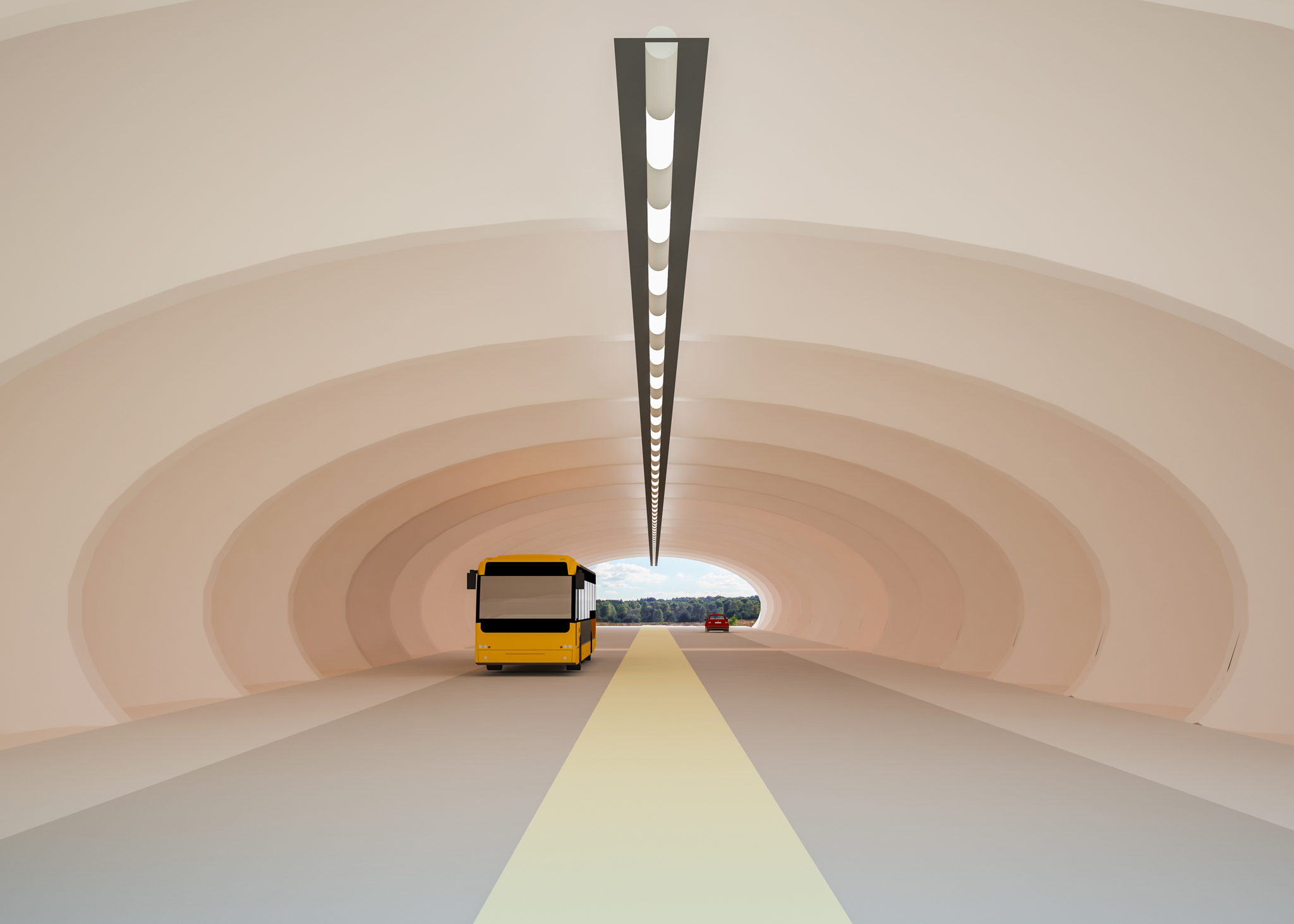 BetonBallon Tunnel
